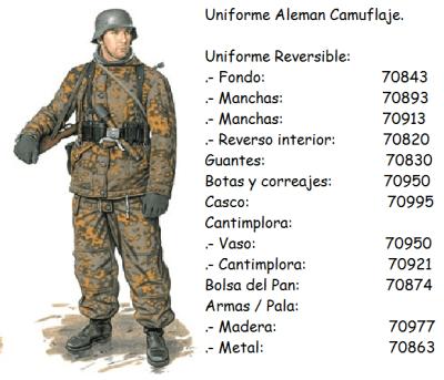 WW2 uniform colors  MODELLING  Wehrmacht Info  Scale Models
