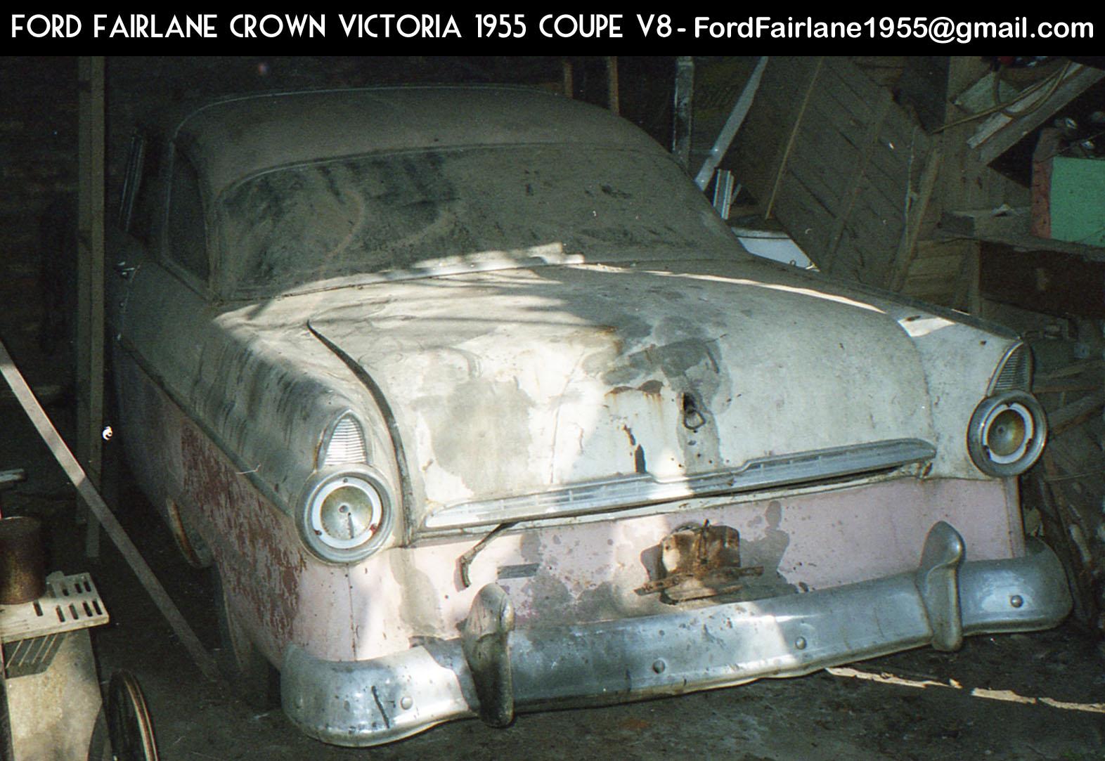 Ford Fairlane Crown Victoria 1955 V8 Coupé