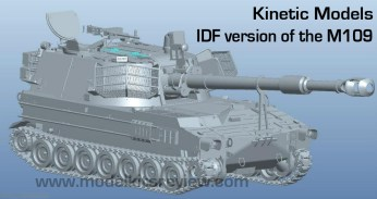 Knetic 1-35 M-109-IDF Version