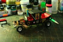 Other side, my first completed model, AMT's 1:25 Munster Koach