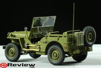 New Italeri 1 24 Jeep Willys Kit 6355