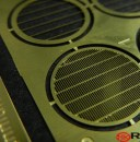Photo Etch grille set for 1/144 Bandai Falcon