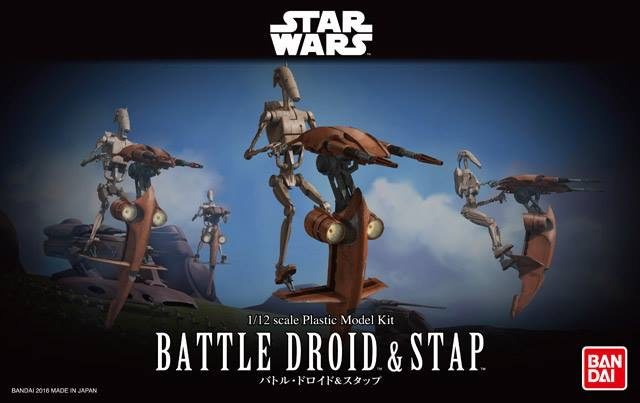 Star Wars Battle Droid & Stap