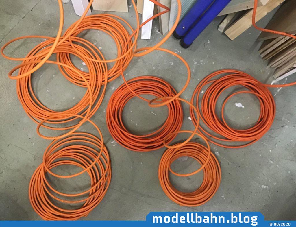 CAD7 Leitungen für's Netzwerk...