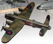 Dads Lanc on the model table