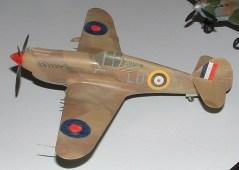 Rods P-40 Desert colours