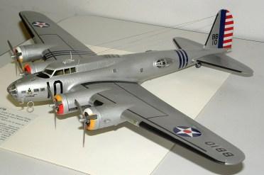 Leigh's B-17 very striking paint job
