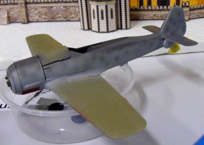 Mark's FW-190 in progress