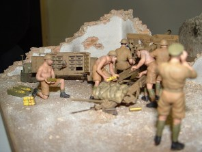 Nick's diorama rear view