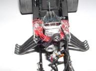 Sean's funny car engine close up