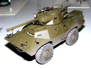 Steves' armoured car