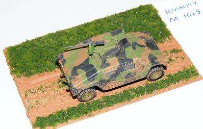 John's Hummer diorama