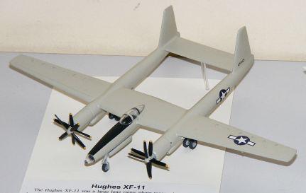 Leigh's Hughes experimental re-con plane