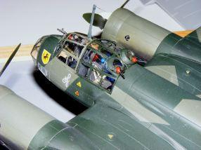 Mark's Ju-88 cockpit close up