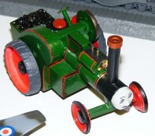 Mark's scratch built steam roller