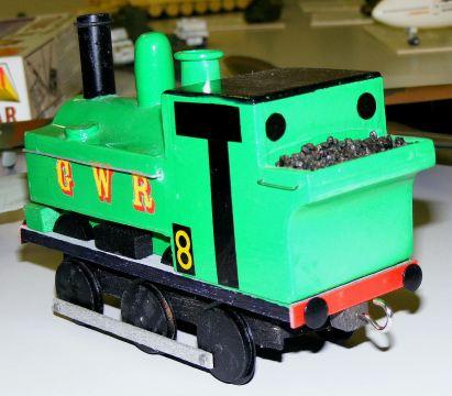 Mark's Train rear view