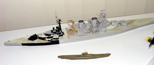 Matts' Ship and Sub
