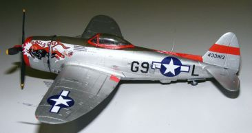 Rod's P-47 port side view
