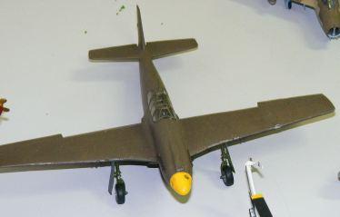 Rod's P-51A in progress