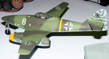 Steve's Me-262 side view