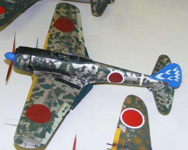 Wayne's Ki-43 Oscar from 248 Sentai New Guinea all wiped out