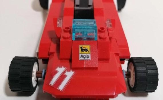 Ferrari 312 T4 LEGO, modellino scala 1:18