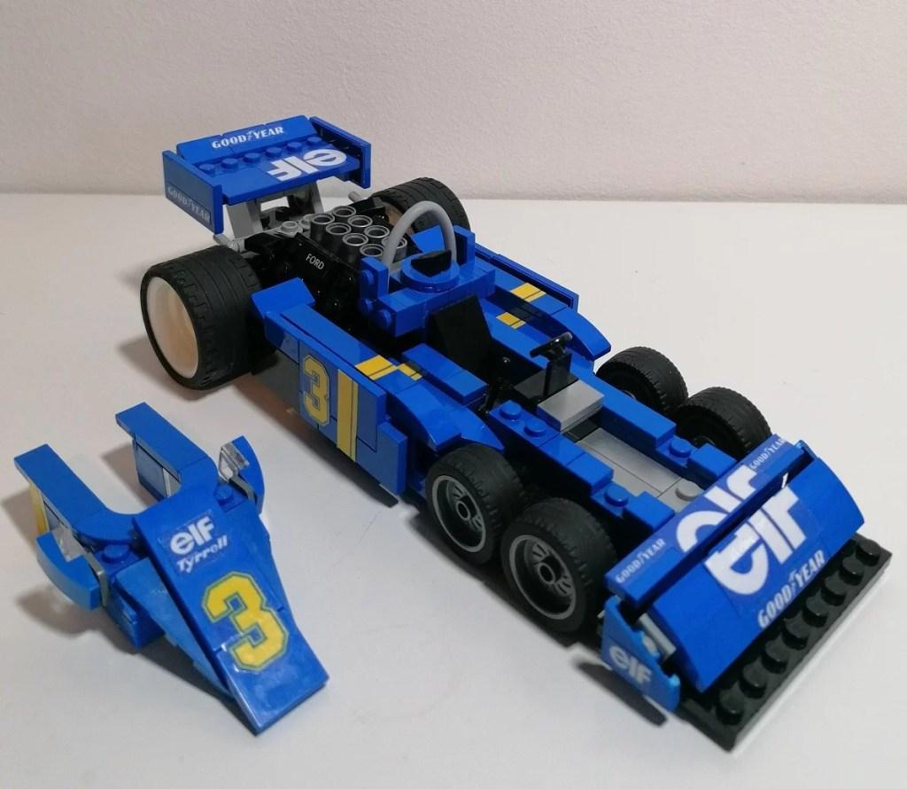 modellino Tyrrel LEGO P34 6 ruote 1976