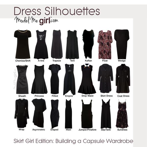Modest Fashion Stylist 101: Dress Silhouettes | Model Me Girl