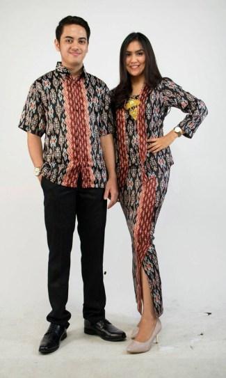 Baju Batik Couple Modern 2017