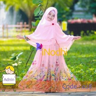 Baju Lebaran Anak Perempuan dengan Dress Muslimah