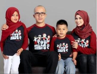 Kaos Keren untuk Baju Lebaran Keluarga