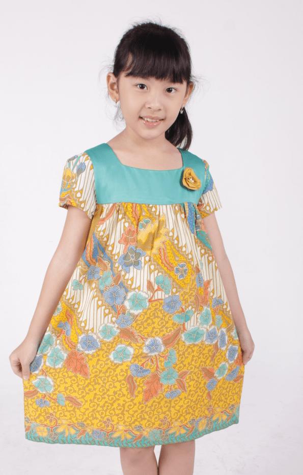 22 Model Baju Batik Anak  Perempuan Laki Laki Paling