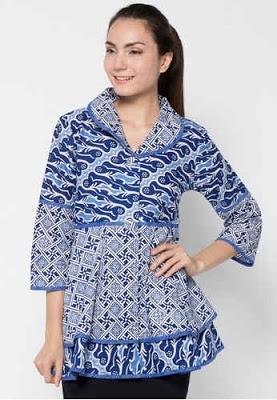 Baju Batik dengan Model Stylish dan Elegan untuk Para Guru