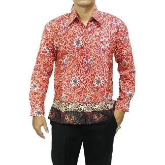 Baju Batik Panjang untuk Pria Kantoran