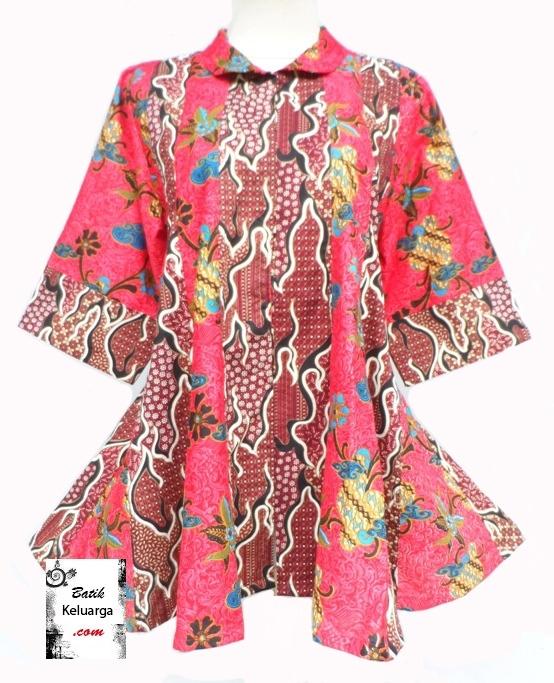 22 Model Baju Batik Wanita Gemuk Terbaik Trik Agar