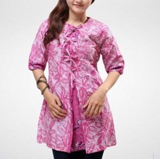 Model Baju Batik Guru Terbaru Saat Ini