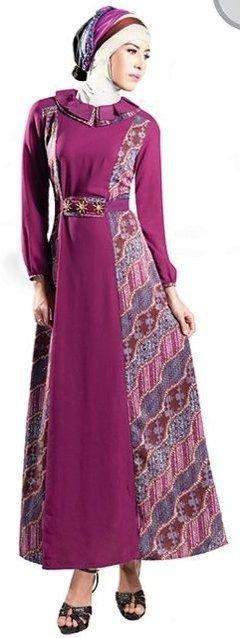 Model Baju Batik Muslimah untuk Pesta Pernikahan