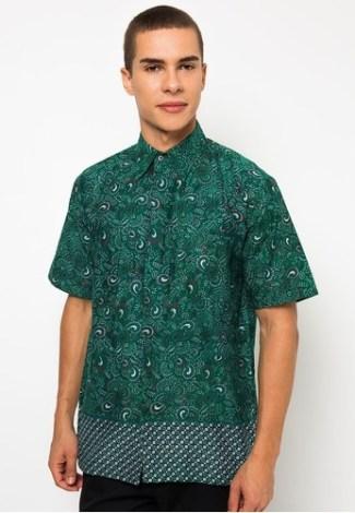 Model Baju Batik untuk Guru Pria Modern
