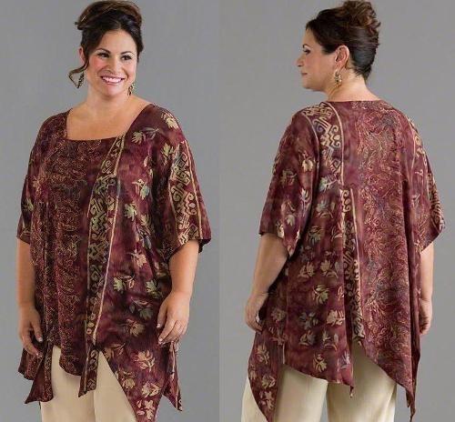 22 Model Baju Batik Wanita Gemuk Terbaik Trik Agar Terlihat Langsing