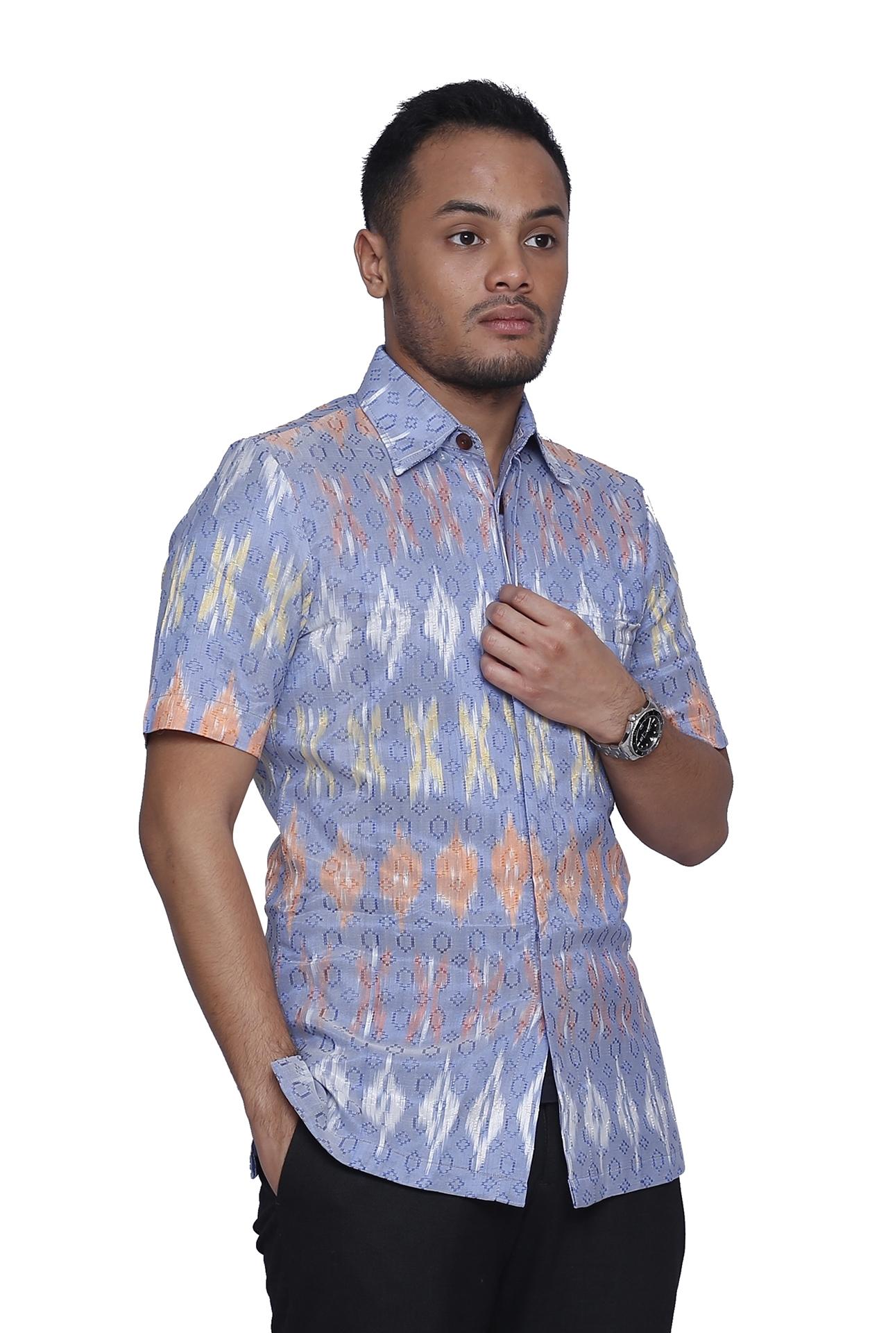 21 Model Baju Batik Guru Wanita Pria Seragam Modern