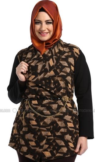 Model Baju Batik Atasan untuk Wanita Gemuk untuk Muslimah
