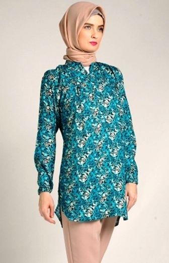 40 Model Baju Batik Atasan Wanita Terbaru 2019 Desain