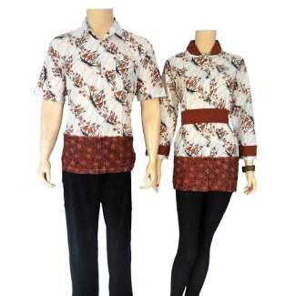 Model Baju Batik Couple untuk Pasangan dengan Gaya Sederhana