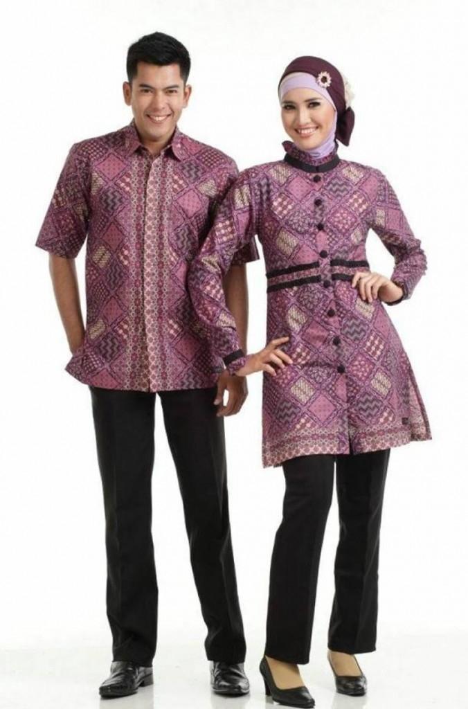 35 Model Baju Batik Couple Terbaru 2018 Pasangan Muda Keluarga