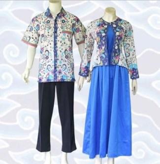 Model Baju Batik Couple untuk Pasangan Paling Populer