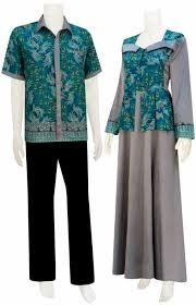 Model Baju Batik Couple untuk Pasangan