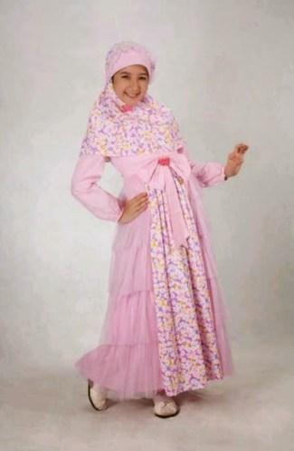 Model Baju Gamis Anak Perempuan Muslimah