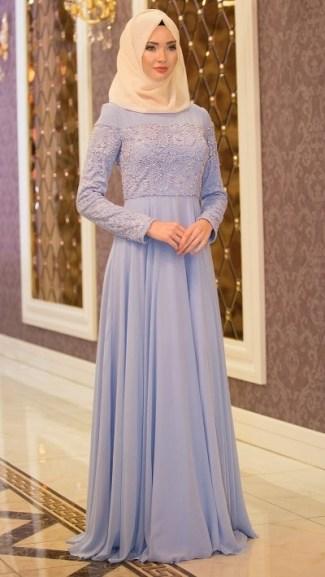 Model Baju Gamis Brokat untuk Pesta