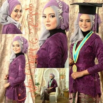 Tutorial Hijab Wisuda yang Sederhana dan Terbaru