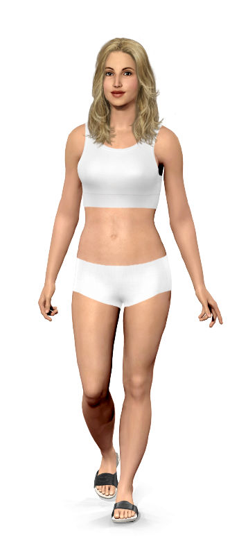 Weight Gain Simulator : weight, simulator, Model, Virtual, Weight, Simulator, Motivation, Women